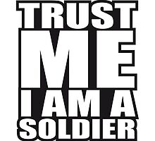 Trust Me Soldier Logo Design by Style-O-Mat