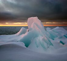 First Light, Lake Superior by Michael Treloar