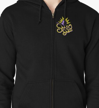 The Shiny Show Official Memorabilia Zipped Hoodie