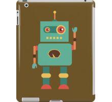 Fun Retro Robot Art iPad Case/Skin