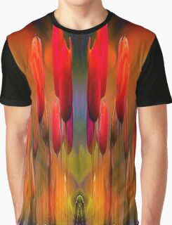 Flaming Tu- Lips Graphic T-Shirt