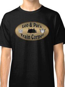 Leo & Pat's Train Corner Logo Classic T-Shirt