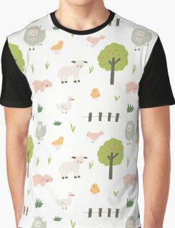 Spring Farm Graphic T-Shirt