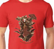 Flossie Leather Feathers and her Bat Cabaret Unisex T-Shirt