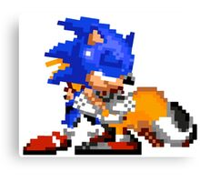 Sonic and Tails - Hugs Canvas Print