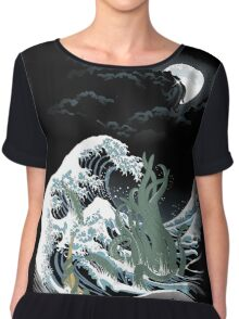 The Wave Off  R'lyeh  Chiffon Top