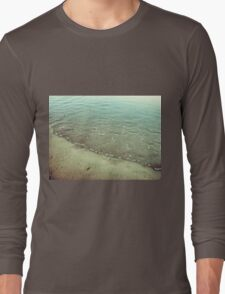 Abstract rippled water Long Sleeve T-Shirt