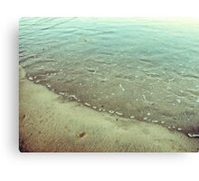 Abstract rippled water Canvas Print