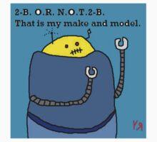 """Fat Robot Ponders Identity"" by Richard F. Yates T-Shirt"