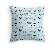 Leopa Repeating Background Throw Pillow