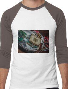 Geek OUT TO LUNCH Men's Baseball ¾ T-Shirt
