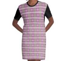 Reflections Pink Graphic T-Shirt Dress
