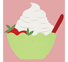 Frozen Yogurt Photographic Print