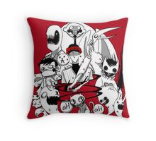 OFF red Throw Pillow
