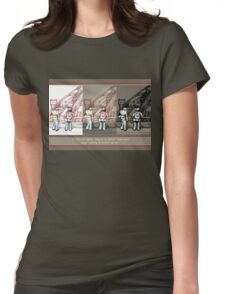 Rush Hour Parking  Womens Fitted T-Shirt