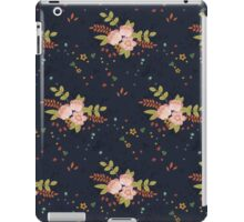 Woodland Flowers - Blue iPad Case/Skin
