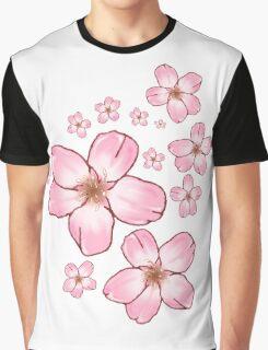 Sakura Blossoms  Graphic T-Shirt