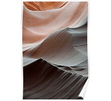 Antelope Canyon Desert Abstract Poster