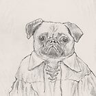 The Pug of Poetry by betsystreeter