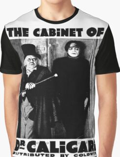 Caligari Poster b/w with lettering Graphic T-Shirt
