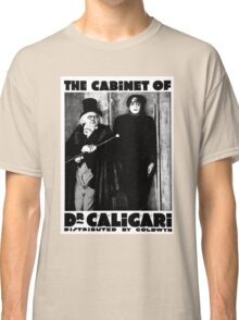 Caligari Poster b/w with lettering Classic T-Shirt