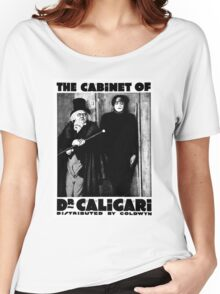 Caligari Poster b/w with lettering Women's Relaxed Fit T-Shirt
