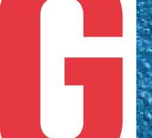 Let's Go Rangers - LGR Sticker