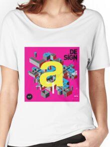 a initial design Women's Relaxed Fit T-Shirt
