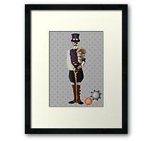 Steampunk Skeleton Framed Print