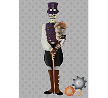 Steampunk Skeleton Photographic Print