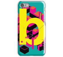 B initial design iPhone Case/Skin