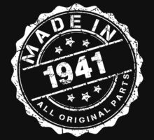 MADE IN 1941 ALL ORIGINAL PARTS by smrdesign