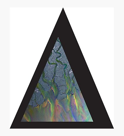 Alt-j An Awesome Wave Triangle Photographic Print