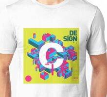 C initial design Unisex T-Shirt