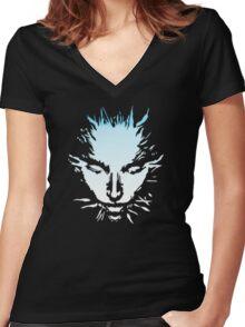 Shodan System Shock  Women's Fitted V-Neck T-Shirt