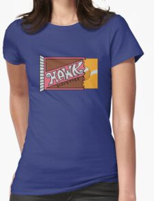 The Golden Diskette Womens Fitted T-Shirt
