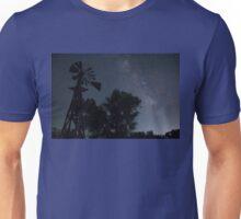 Milky Way Over the Grasslands Unisex T-Shirt