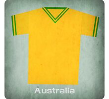Retro Football Jersey Australia by Daviz Industries