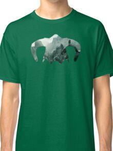 Elder Scrolls - Helmet - Mountains Classic T-Shirt