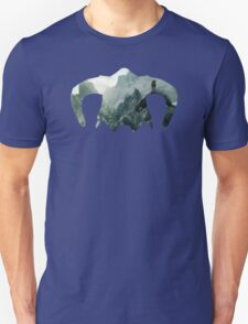 Elder Scrolls - Helmet - Mountains Unisex T-Shirt