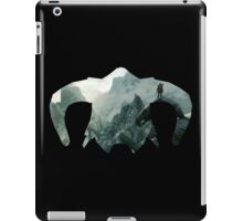Elder Scrolls - Helmet - Mountains iPad Case/Skin