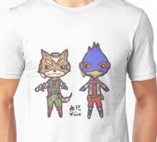 StarFox64- Fox Falco Chibi Unisex T-Shirt