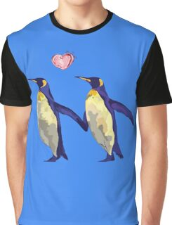 Penguins in Love Graphic T-Shirt