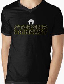 Starship Paincast Mens V-Neck T-Shirt