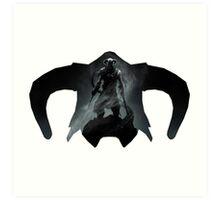 Elder Scrolls - Helmet - Dragonborn Art Print