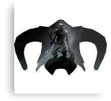 Elder Scrolls - Helmet - Dragonborn Metal Print