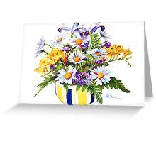 A Springtime Bouquet! Greeting Card