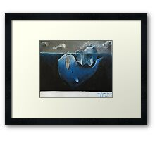 Dark Depths Framed Print