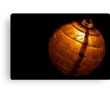 Bamboo Lantern Canvas Print