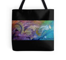 Other Worldly Abstract Tote Bag